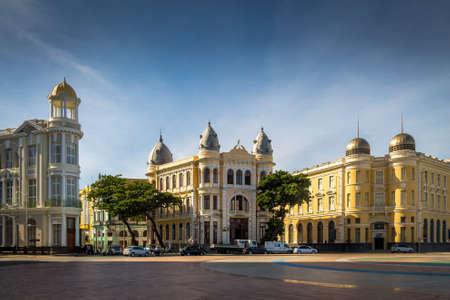 Centro Histórico de la Ciudad de Recife - Pernambuco, Brasil Foto de archivo - 73681444