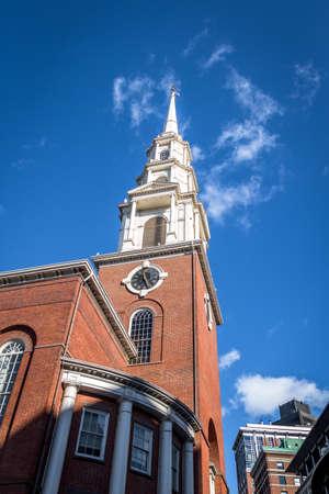 Park Street Church - Boston, Massachusetts, USA