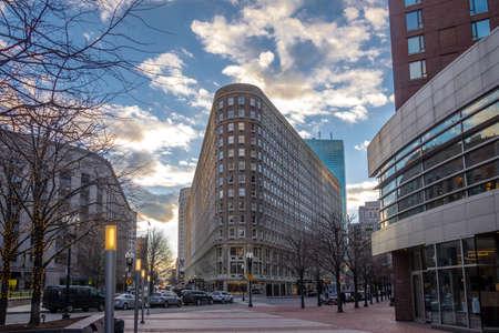 Buildings Street Boston - Boston, Massachusetts, USA