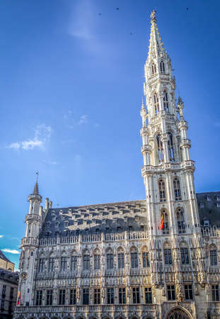 ville: Brusselss Town Hall - Grand Place, Brussels, Belgium