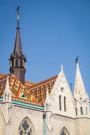 Mathias Church - Budapest, Hungary Stock Photo