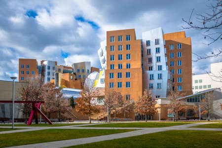Massachusetts Institute of Technology (MIT) Stata Center - Cambridge, USA