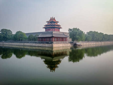 Forbidden City outer wall - Beijing, China