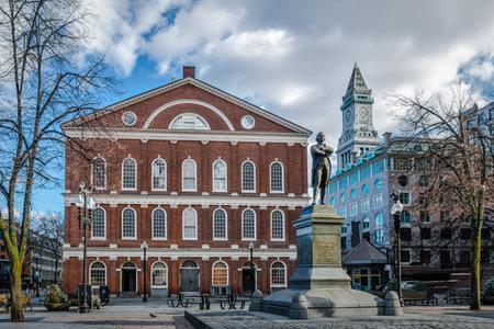 center hall colonial: Faneuil Hall - Boston, Massachusetts, USA