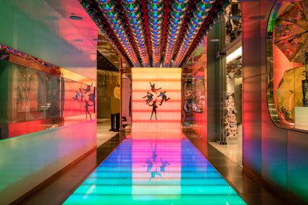 비틀즈 서커스 서커스 극장 입장 - 미 라스베가스, 네바다, 미국 에디토리얼