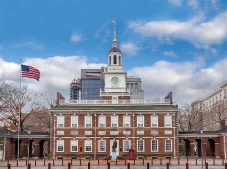 Independence Hall - Philadelphia, Pennsylvania, USA 報道画像