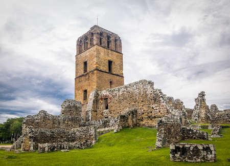 폐허의 파나마 viejo - 파나마 시티, 파나마 스톡 콘텐츠
