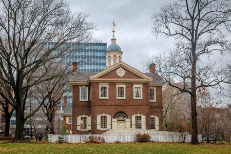 center hall colonial: Carpenters Hall - Philadelphia, Pennsylvania, USA