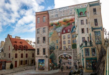 Québec Fresh (Fresque des Quebecois) - Québec (città), Canada