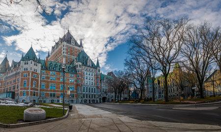 Frontenac Castle - Quebec City, Quebec, Canada