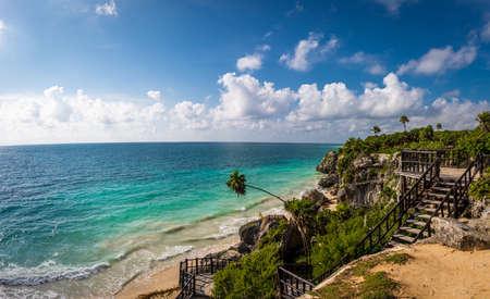 Caribbean sea - Mayan Ruins of Tulum, Mexico