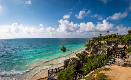 Caribbean sea - Mayan Ruins of Tulum, Mexico