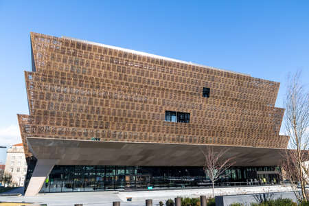 National Museum of African American History and Culture - Washington, DC, USA Editorial