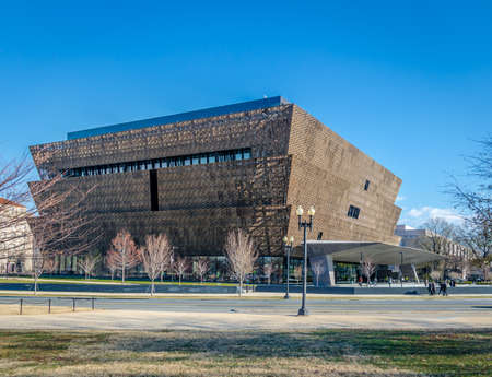 National Museum of African American History and Culture - Washington, DC, USA Редакционное