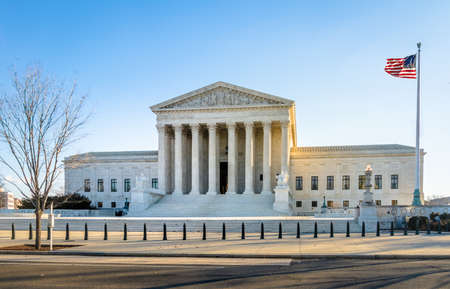 The United States Supreme Court building - Washington, DC, USA
