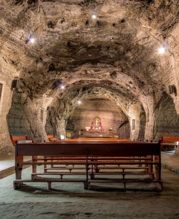 Underground Chapel in Salt mine - Zipaquira, Colombia