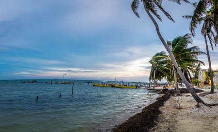 Sunset at Caye Caulker - Belize