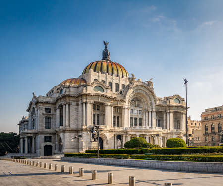 Palacio de Bellas Artes (Fine Arts Palace) - Mexico City, Mexico