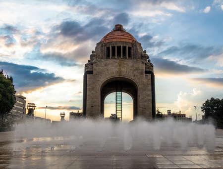 Monument to the Mexican Revolution (Monumento a la Revolucion) - Mexico City, Mexico Stock Photo