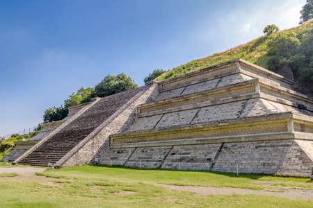 colonial church: Cholula Pyramid - Cholula, Puebla, Mexico