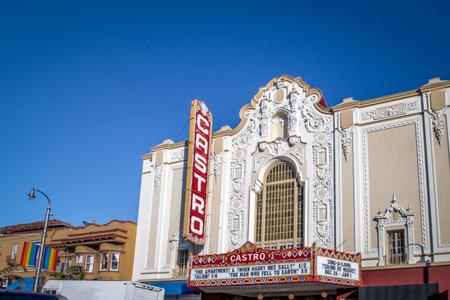 카스트로 극장 - 미국 캘리포니아 주 샌프란시스코 에디토리얼