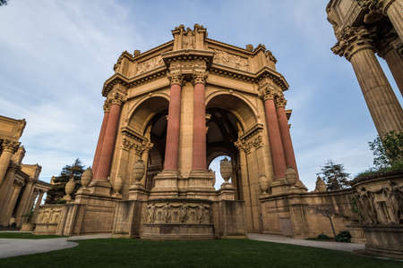 The Palace of Fine Arts - San Francisco, California, USA Editorial