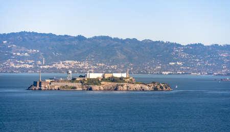 Alcatraz Island - San Francisco, California, USA Stock Photo