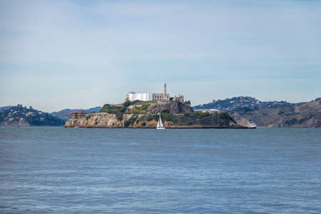 Alcatraz Island - San Francisco, California, USA Stock Photo