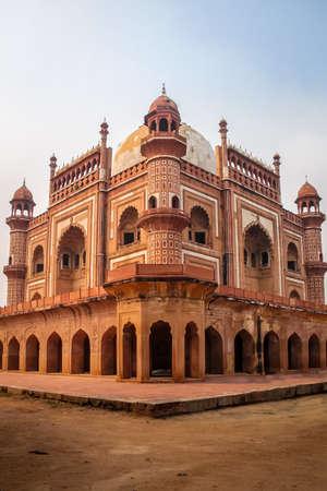 Safdarjungs Tomb - New Delhi, India Stock Photo