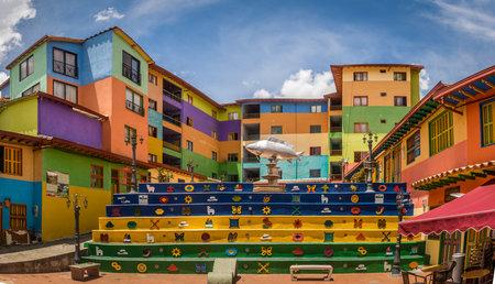 Plaza de los Zocalos - Guatape, Colombia