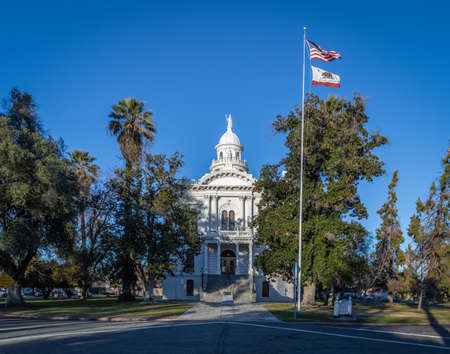 joaquin: Merced County Courthouse Museum - Merced, California, USA Editorial