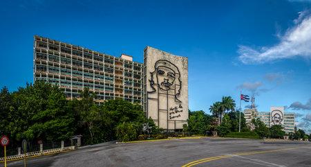 Ministry of the Interior in the Plaza de la Revolucion - Havana, Cuba
