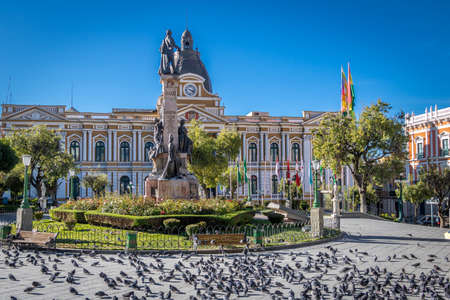 Plaza Murillo and Bolivian Palace of Government - La Paz, Bolivia