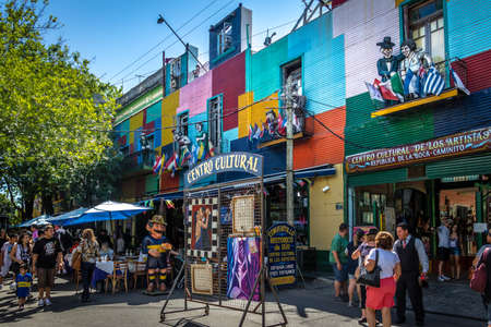 다채로운 라 보카 지역 - 아르헨티나 부에노스 아이레스