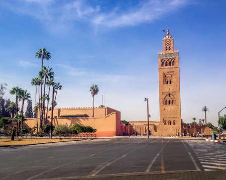 Koutubia mosque - Marakech, Morocco Stockfoto