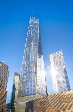 One World Trade Center at Lower Manhattan - New York City, USA