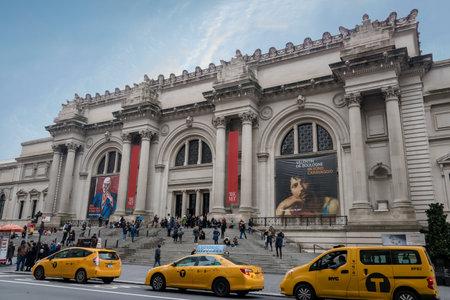 ニューヨーク シティ - ニューヨーク、米国のメトロポリタン美術館 報道画像