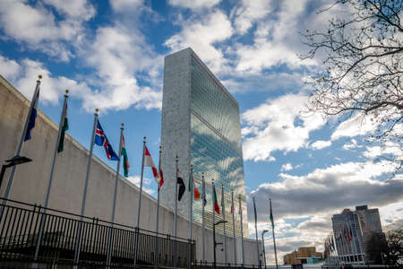 United Nations Headquarters - New York, USA 新聞圖片