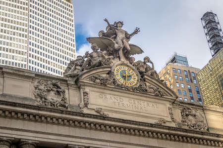 Grand Central Terminal - Nueva York, EE. UU. Foto de archivo - 77643261
