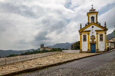 of our lady: Merces de Cima Church (Nossa Senhora das Merces e Misericordia) - Ouro Preto, Minas Gerais, Brazil