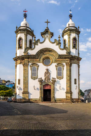 Nossa Senhora do Carmo Church - Sao Joao Del Rei, Minas Gerais, Brazil