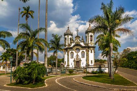 Sao Francisco de Assis Kerk - Sao Joao Del Rei, Minas Gerais, Brazilië