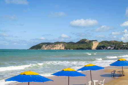 Ponta Negra Beach and Morro do Careca - Natal, Rio Grande do Norte, Brazil