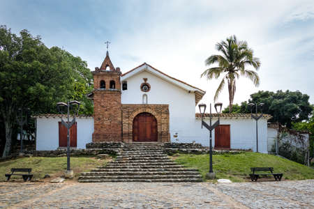San Antonio Church - Cali, Colombia Editorial