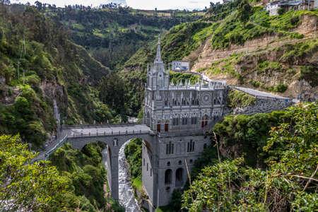 Sanctuaire Las Lajas - Ipiales, Colombie Banque d'images - 85051814