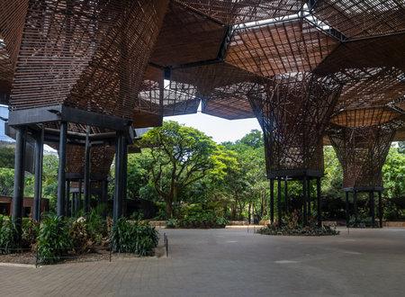 medellin: Orchidiarium of Botanical Garden of Medellin - Medellin, Antioquia, Colombia Editorial