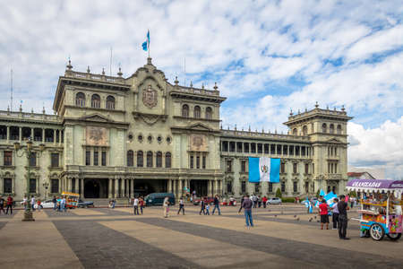 Guatemala National Palace - Guatemala City, Guatemala Stock Photo - 79534198