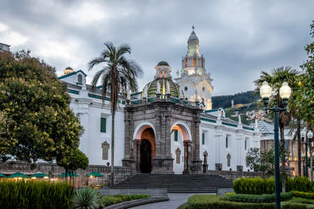 Plaza Grande i Metropolitan Cathedral - Quito, Ekwador