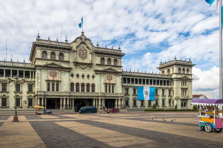 Guatemala National Palace - Guatemala City, Guatemala 免版税图像