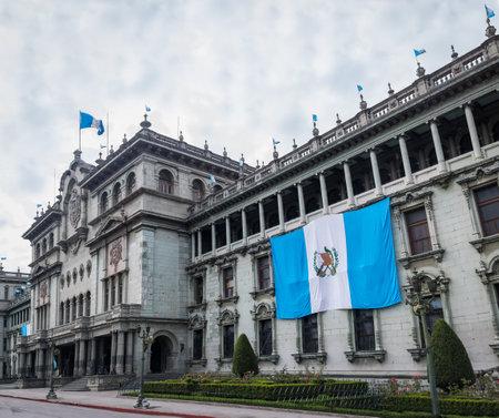 Guatemala National Palace - Guatemala City, Guatemala Editorial
